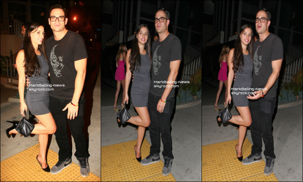 01/06/13: Mark était au Bootsy Bellows Club à LA où il a posé avec quelques fans