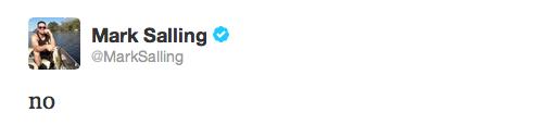 13/07/13: Décès de l'acteur Cory Monteith alias Finn Hudson dans Glee, co-star & ami de Mark, mort d'un mélange d'héroine & d'alcool. C'est donc avec une grande peine que Mark a appris la nouvelle dès le lendemain du décès de son meilleur ami à l'écran