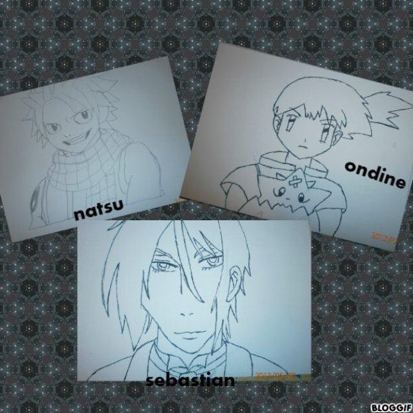 montages manga
