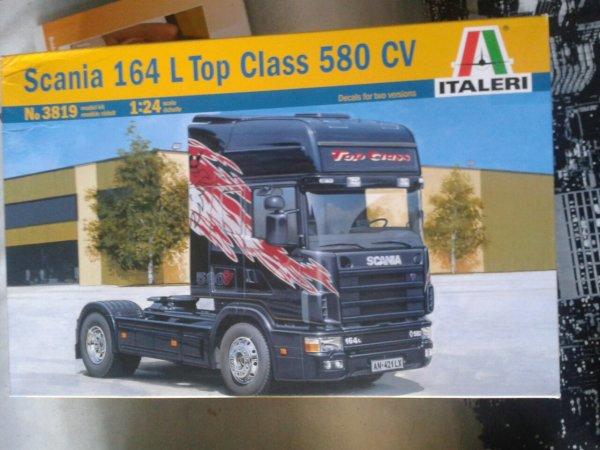 Scania 164 L top classe 580 CV