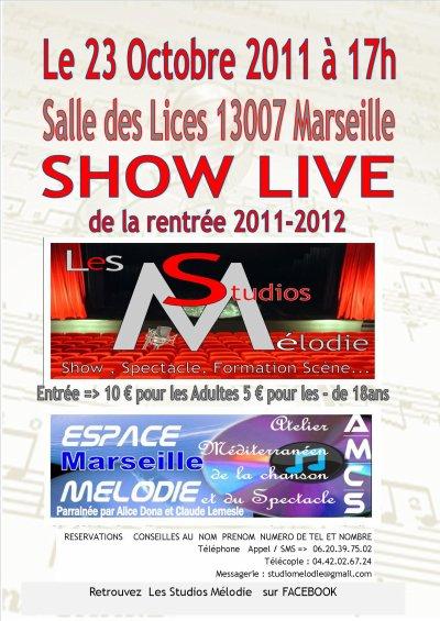 show du 23 octobre 2011