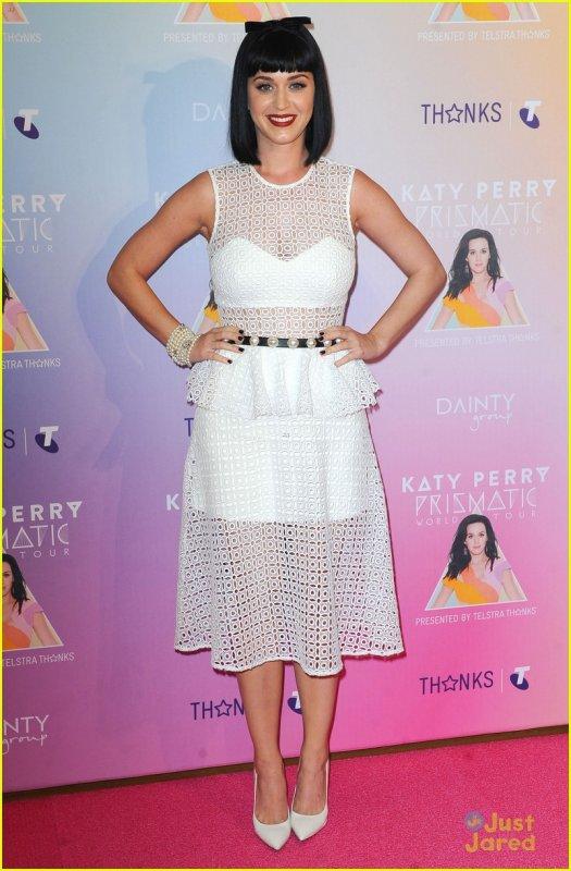 Katy Perry en promo en Australie