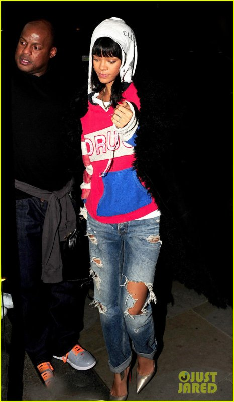 Rihanna & Drake dînent ensemble à Londres