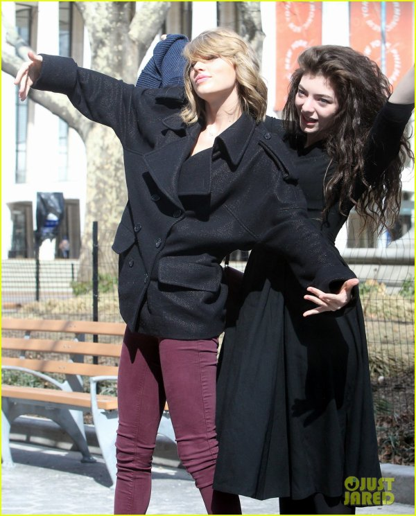 Taylor Swift & Lorde s'amusent à NYC