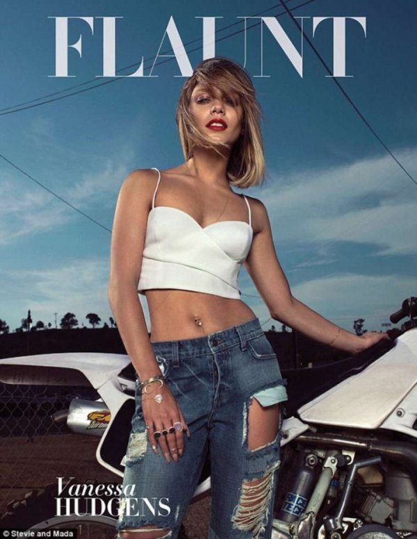 Vanessa Hudgens @ Flaunt Magazine