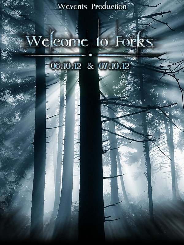 Conv Twilight : WELCOME TO FORKS