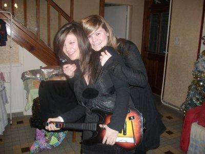 Nouvel an 2010 avec Mimine et Sister <3