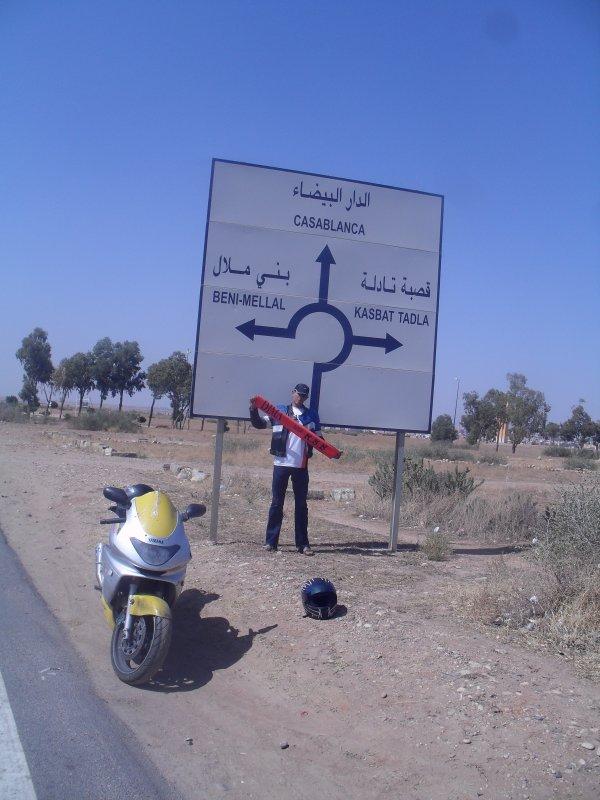 Histoire D'un MoTo-Viragiste Vers TadLa 700 km De Chez moi
