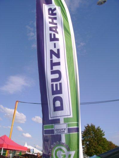 Foire de Chalons - Stand Deutz Fahr