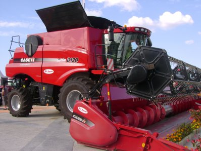 Foire de Chalons - Stand Case IH