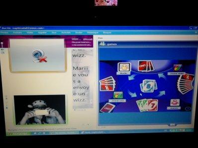 Uno sur MSN avec Marie !!!