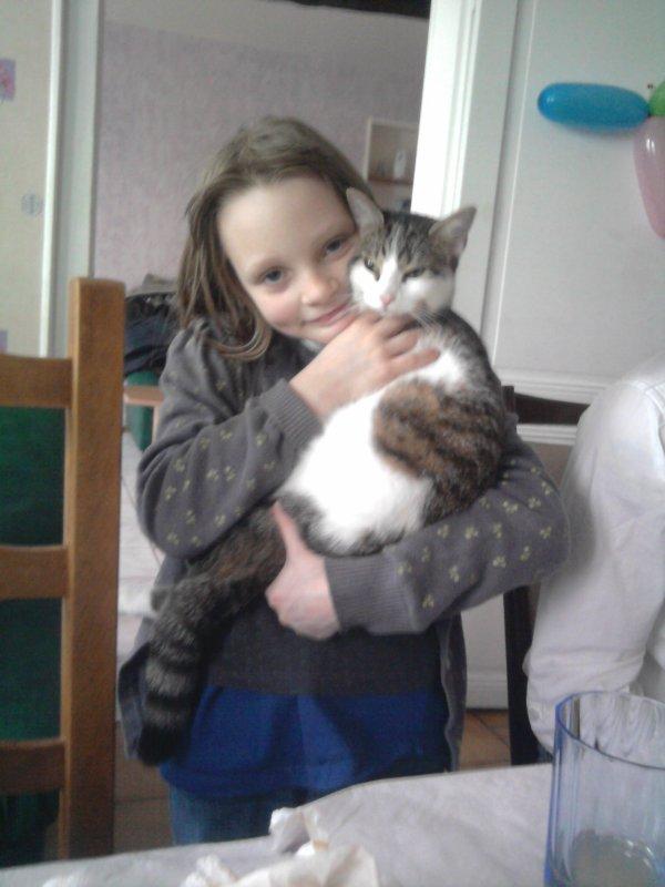 Coco, le chat de ma cousine !!!