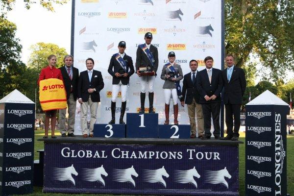 4ème étape du Global Champions Tour à Wiesbaden (Allemagne)