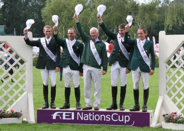 7ème étape de la Coupe des Nations à Hickstead (GBR)