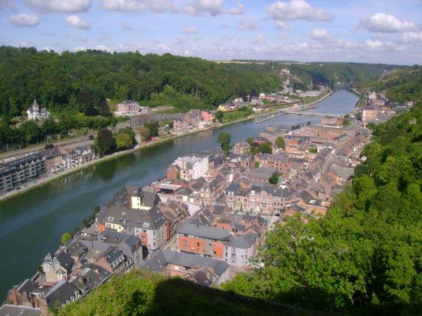 Voyage à Dinant 2012 --► Vue de la ville