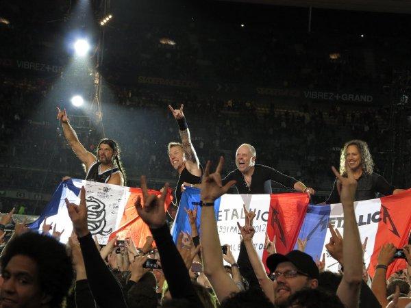 Metallica, mon groupe préféré. (si, si je vous assure !) *o* ♪