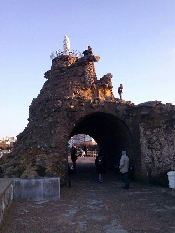 Fin d'année â Biarritz