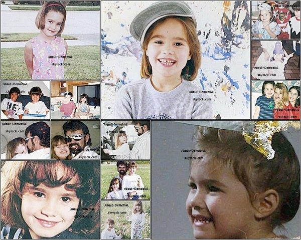 * Retournons Dans L'enfance De Notre Miss Lovato ! *