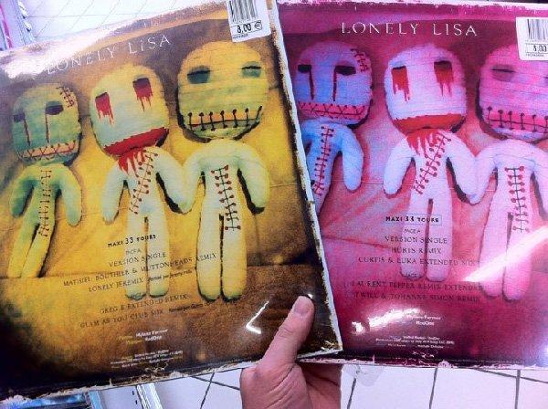 Visuel Maxi 33 tour de Lonely Lisa
