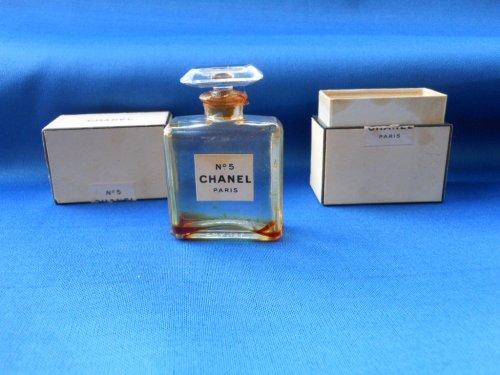 Chanel N5 Extrait De Parfum Annees 1920 Bouchon Fin Vendu Flacons
