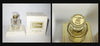 """Rare et ancien mini """"Sortilège""""  de Le Galion extrait de parfum avec boite"""