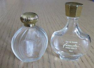 Nina et Farouche de Nina Ricci, 2 miniatures vides 4¤