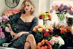 Jennifer Lawrence dans le magasine Vogue.