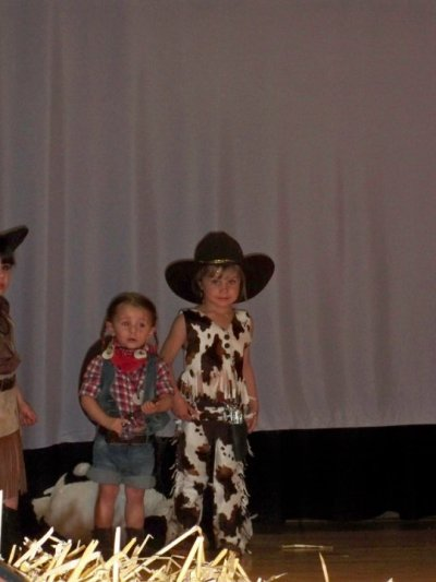 tenue country 3 ans