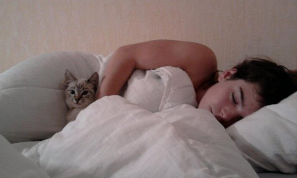 comme promis moi et ma chatte