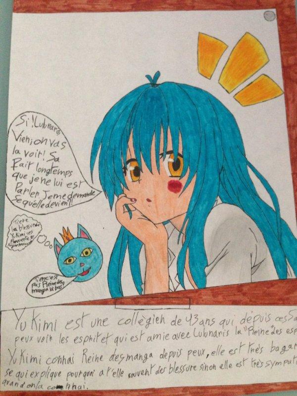 2èmeDessin pour le défis de Reine des manga
