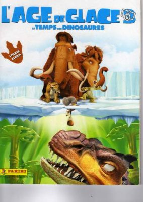 """Panini - L'Age de glace 3 """"le temps des dinosaures"""""""