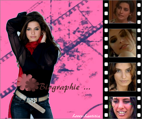 La biographie and filmographie !