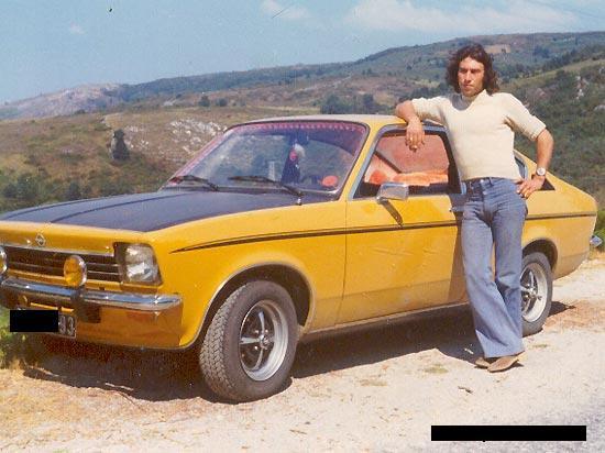 Opel Kadett coupé 1200SR de 1974