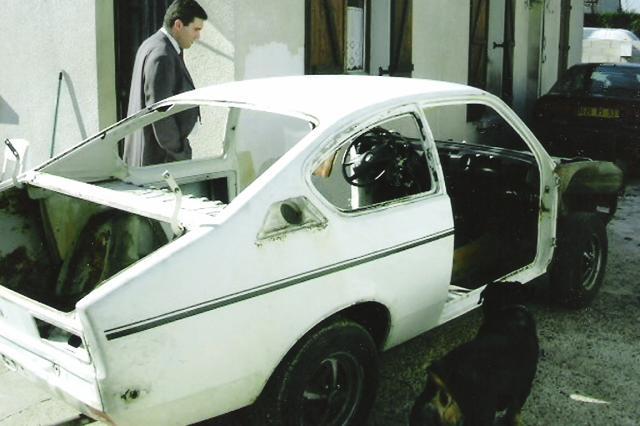 """Fin Aout 2003 : achat de la """"voiture"""""""