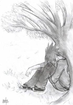 sasuke tristouné