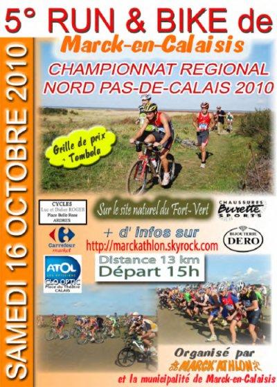 Run&Bike de Marck en Calaisis - Samedi 16 Octobre 2010