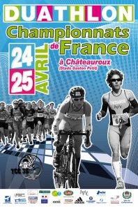 Résultats des Championnats de France Duathlon - Chateauroux - Lundi 25 Avril 2011