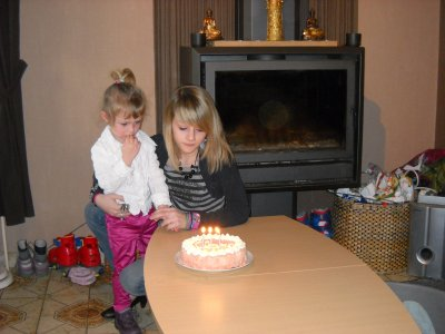 clara fête ses trois ans