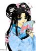 Geisha et fleur de cerisier