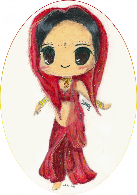 Chibi Indienne Bollywood
