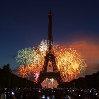 FEUX ARTICIFICE PARIS