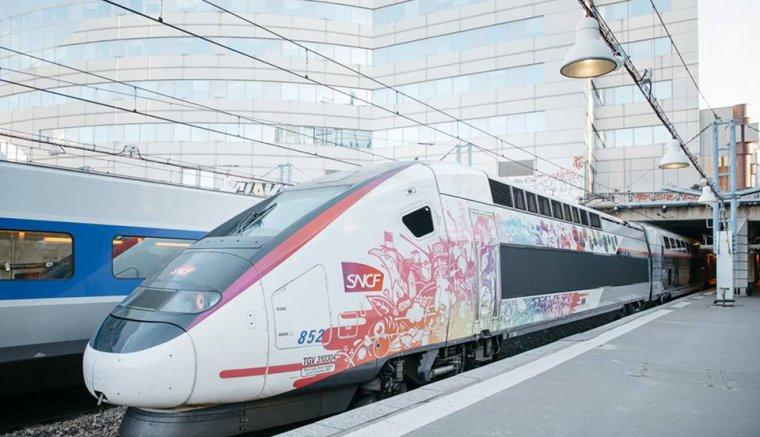 LE NOUVEAU TGV BORDEAUX PARIS