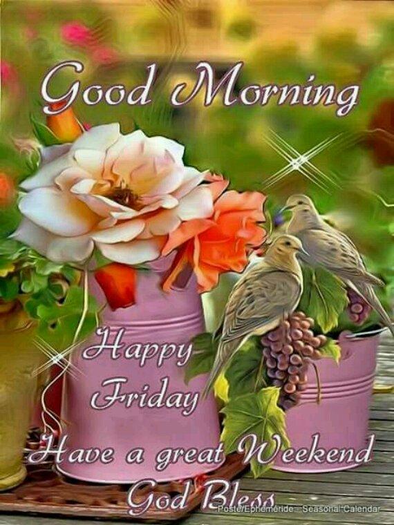 Bonne et belle journée