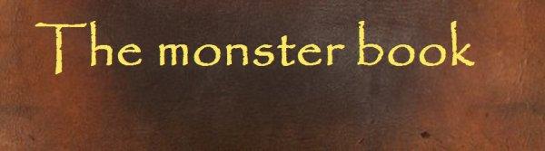 le monstrueux livre des monsters