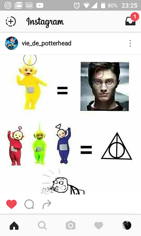 Post Insta de PotterHead #10