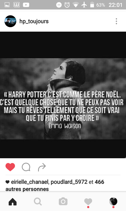 Post Insta de PotterHead #11