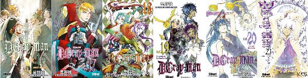 D. Gray-Man, Katsura Hoshino, Glénat