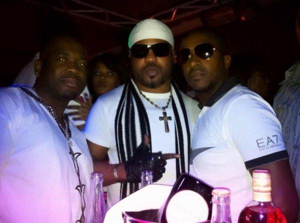 Jean mukanda, moi et Berny Raous