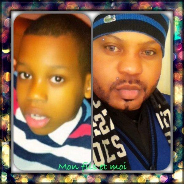 Moi et mon fils Bryan Bompese