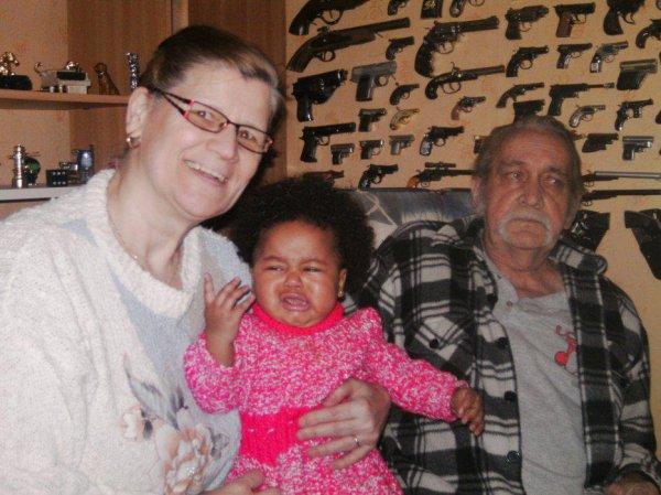 mamie papy et la familles